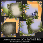 On the Wild Side Deco Paper Pack-$3.49 (Jumpstart Designs)