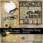 Pumpkin Soup Mini Pack-$3.99 (Fayette Designs)