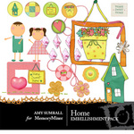 Home Embellishment Pack-$3.50 (Amy Sumrall)