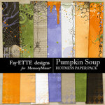 Pumpkin Soup Hotmess Solid Paper Pack-$2.99 (Fayette Designs)