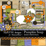 Pumpkin Soup Basics Combo Pack-$3.99 (Fayette Designs)