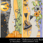 Halloween Candy Rush Borders-$1.99 (Lindsay Jane)