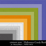 Halloween Candy Rush Embossed Paper Pack-$1.99 (Lindsay Jane)