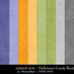 Halloween Candy Rush Extra Paper Pack-$1.99 (Lindsay Jane)