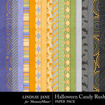 Halloween Candy Rush Paper Pack-$3.49 (Lindsay Jane)