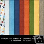 Awesome Boy Extra Paper Pack-$3.99 (Albums to Remember)