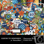Awesome Boy Combo Pack-$4.99 (Albums to Remember)