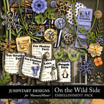 On the Wild Side Embellishment Pack 2-$3.49 (Jumpstart Designs)
