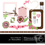 Whimsical Romance Embellishment Pack-$2.99 (Paula Phillips)