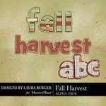 Fall Harvest Alpha Pack-$1.25 (Laura Burger)