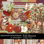 Fall Harvest Combo Pack-$3.99 (Laura Burger)