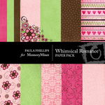 Whimsical Romance Paper Pack-$4.00 (Paula Phillips)