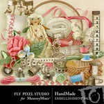 Hand Made Embellishment Pack-$2.99 (Fly Pixel Studio)