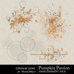 Pumpkin Passion Scatterz-$1.00 (Lindsay Jane)
