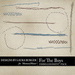 For the Boys Stitches-$2.45 (Laura Burger)