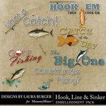 Hook Line Sinker WordArt-$2.49 (Laura Burger)