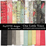 One Little Voice Hotmess and Solid PP-$3.99 (Fayette Designs)