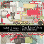 One Little Voice Basics Combo Pack-$5.99 (Fayette Designs)