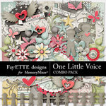 One Little Voice Combo Pack-$7.99 (Fayette Designs)