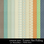 Leaves Are Falling Pattern Paper Pack-$1.99 (Lindsay Jane)