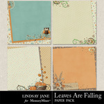 Leaves Are Falling Deco Paper Pack-$1.99 (Lindsay Jane)