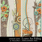 Leaves Are Falling Borders-$1.99 (Lindsay Jane)