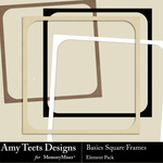 Basics Square Frames-$2.49 (Amy Teets)