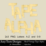 Tape Alpha Pack-$0.99 (Amy Teets)