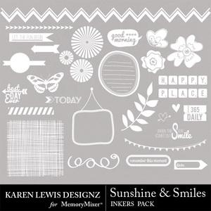 Sunshine smiles inker pack medium