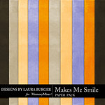 Makes Me Smile Solid Paper Pack-$3.49 (Laura Burger)