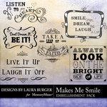 Makes Me Smile WordArt-$1.00 (Laura Burger)