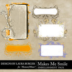 Makes Me Smile Journals-$2.49 (Laura Burger)