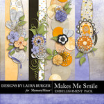 Makes Me Smile Borders-$2.49 (Laura Burger)