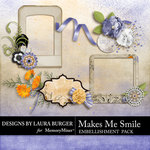 Makes Me Smile Clusters-$2.49 (Laura Burger)