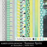 Summer Spritz Paper Pack-$3.99 (Karen Lewis)