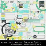 Summer Spritz Embellishment Pack-$2.99 (Karen Lewis)