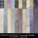 Lavendar Fields Paper Pack-$3.49 (Laura Burger)