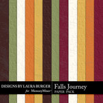 Falls Journey Embossed Paper Pack-$3.49 (Laura Burger)
