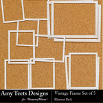 Vintage Frame Set-$2.49 (Amy Teets)