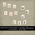 Lil Day Dreamer Alpha Pack-$0.80 (Laura Burger)