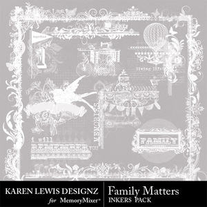 Family matters inker pack medium