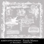 Family Matters KL Inkers Pack-$1.99 (Karen Lewis)