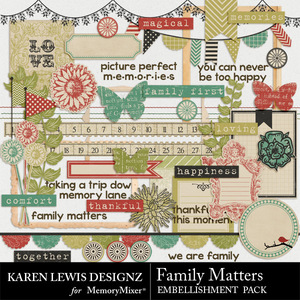 Family matter element pack medium