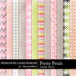 Pretty Petals Pattern Paper Pack-$3.49 (Laura Burger)