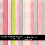 Pretty Petals Solid Paper Pack-$1.40 (Laura Burger)