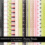 Pretty Petals Add On Paper Pack-$3.49 (Laura Burger)