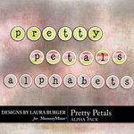 Pretty Petals Alpha Pack-$2.49 (Laura Burger)