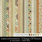 Change of Season Paper Pack-$2.99 (Karen Lewis)