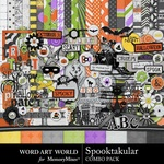 Spooktakular Combo Pack-$4.99 (Word Art World)