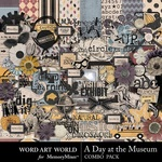 A Day at the Museum Combo Pack-$4.99 (Word Art World)